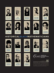 Historical Black Mathematicians Poster